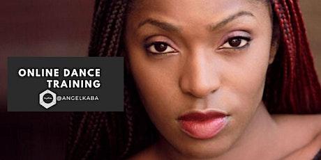 In Studio & Online AfroDance  Class with Angel Kaba tickets