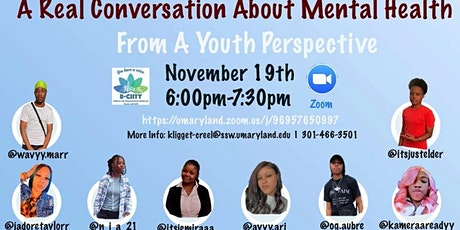 Mental Health, From a Youth Perspective tickets