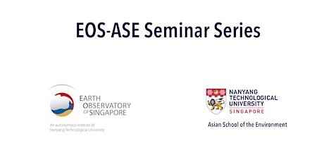 Copy of EOS & ASE Seminar series tickets