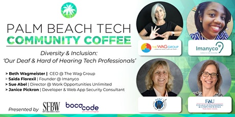 Community Coffee☕| 'Deaf & Hard of Hearing in Tech' tickets