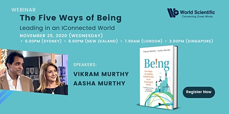 Webinar: The Five Ways of Being: Leading in an iConnected World tickets