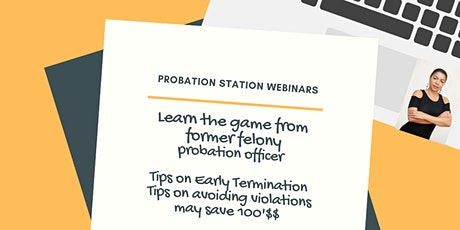 Probation Station Educational Webinar tickets