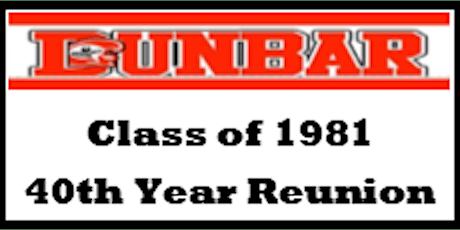 Paul Laurence Dunbar Class of 1981 Reunion tickets