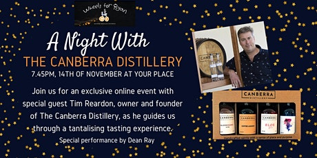 A Night With The Canberra Distillery tickets