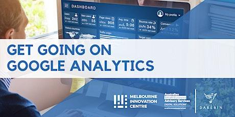 Get Going on Google Analytics - Darebin tickets