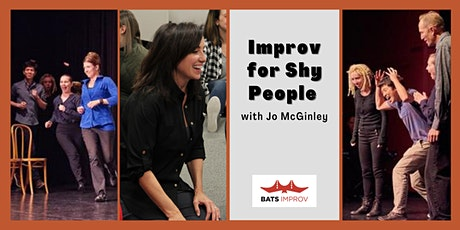 Online: Improv for Shy People with Jo McGinley tickets