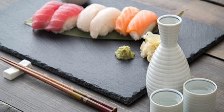 Sushi & Sake Party (Class Full - Waitlist Only)
