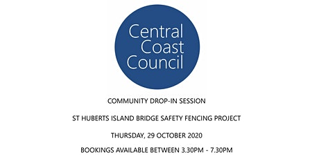 Drop in Session - St Huberts Island Bridge Safety Fencing Project tickets