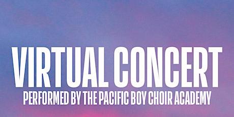 Virtual Concert with The Pacific BoyChoir Academy tickets