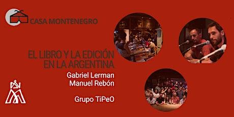 El libro y la edición en la Argentina entradas