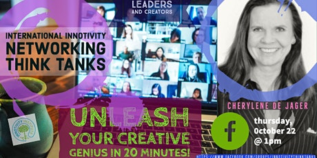 Innotivity @Work w/Dr Cherylene de Jager:  Unleash Your Creative Genius tickets