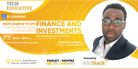 AfriStack Tech Educative -  Finance and Investments billets