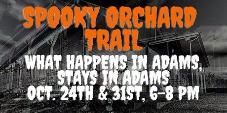 Spooky Orchard Trail tickets