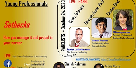 Setback to a huge comeback - Panel with high achievers... tickets
