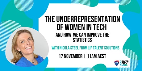 The Underrepresentation of Women in Tech and How to Improve the Statistics tickets