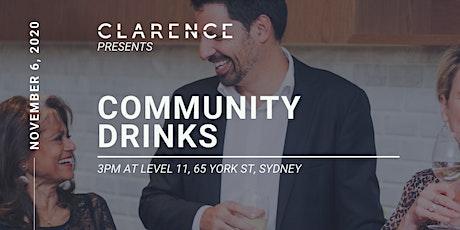Community drinks tickets