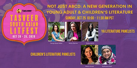 TSAL 2020 | Not Just ABCD: A New Generation in YA and Children's Literature tickets