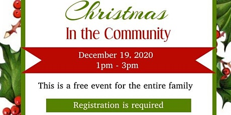 Christmas in the Community tickets