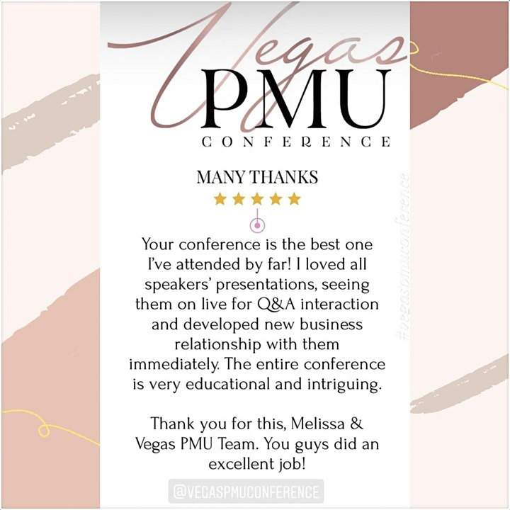 Online Vegas Microblading and PMU Conference image