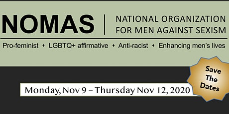 NOMAS 45th Men and Masculinity Conference tickets