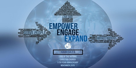 LNCC 11th Anniversary: Empower. Engage. Expand with Ps Richard Guy tickets