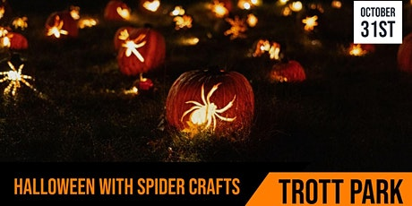 Cafe 34  | Halloween Spider Crafts  | Session 1 tickets