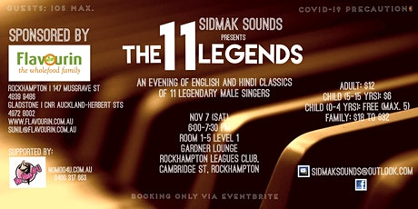 The 11 Legends tickets
