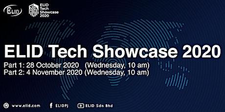 ELID Tech Showcase 2020 biglietti