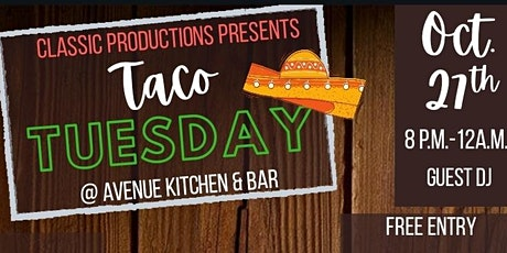 Taco Tuesday!...A Good Time for a Good Cause! tickets