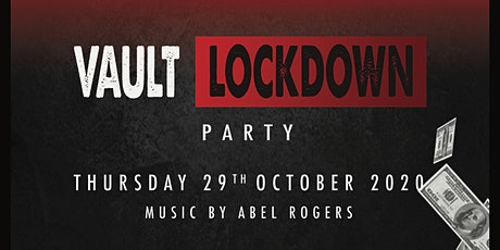 """Vault Lockdown Party"" - The Dispensary Halloween Party 2020"