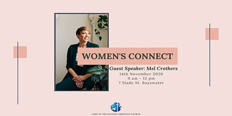Women's Connect with Mel Crothers tickets