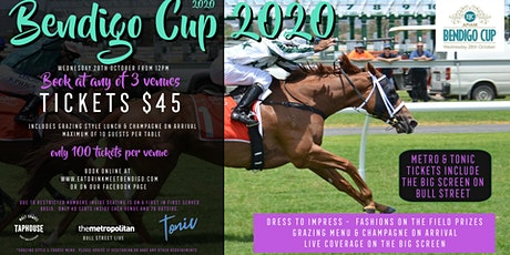 Bendigo Cup @ Tonic Bar tickets