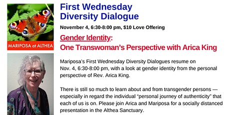 Mariposa's First Wednesday Diversity Dialogue for November 4, 2020 tickets