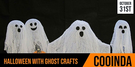 Cooinda Cafe | Ghastly Ghost Crafts | Session 1 tickets