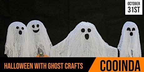 Cooinda Cafe | Ghastly Ghost Crafts | Session 1
