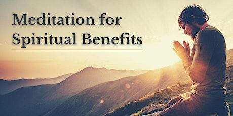 Meditation for Spiritual Benefits