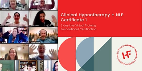 Clinical Hypnotherapy and NLP – Certificate 1 tickets