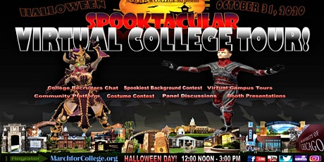 SPOOKTACULAR VIRTUAL COLLEGE TOUR/FAIR tickets