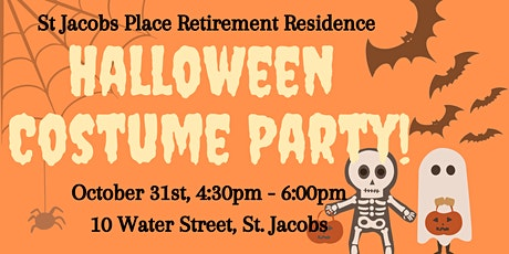 St Jacobs Place Costume Party tickets