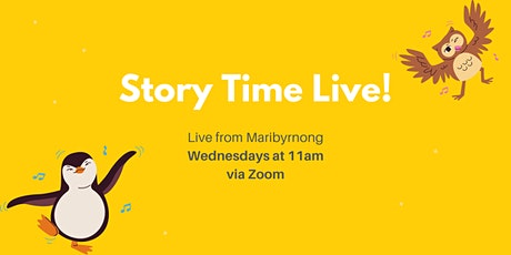 Story Time Live! tickets