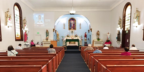 10/25 Sunday 10:30 AM Mass • 主日彌撒 • Thánh Lễ - 30th Sunday in Ordinary Time tickets