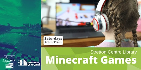 Minecraft Minigames- Stretton Centre Library tickets