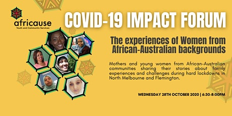 COVID-19 Impact Forum: The experience of Women tickets