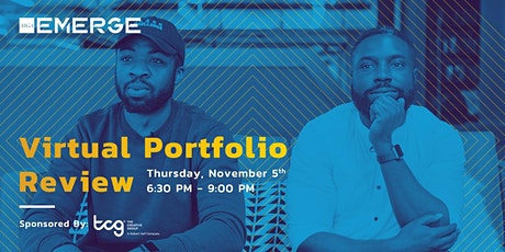 AIGA + TCG Portfolio Review - SOLD OUT tickets