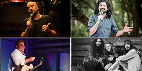 Rock and Comedy Show: vers stand-up en livemuziek talent tickets