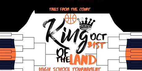 King of The Land,  5 on 5 Basketball Tournament tickets