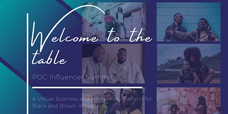 'Welcome to the Table': POC Influencer Summit tickets