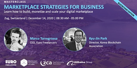 Marketplace Strategies for Business (Blockchain Edition) Tickets