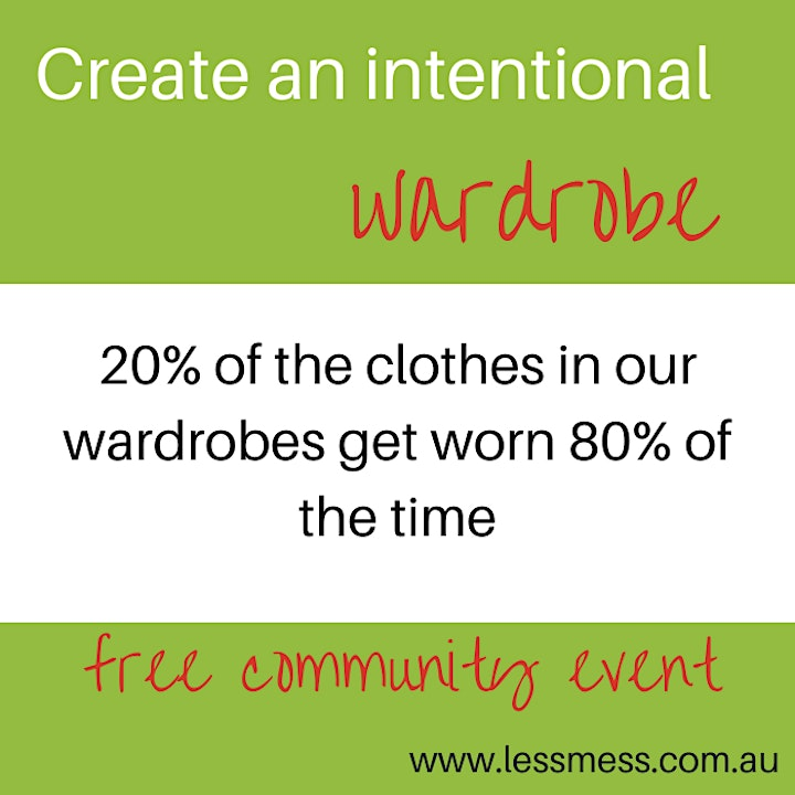 Create an Intentional Wardrobe image