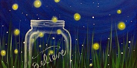 Paint Night: Floating Fireflies tickets